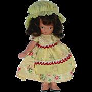 Nancy Ann Storybook ~ #118 LITTLE MISS MUFFET ~ Jointed Leg in Yellow