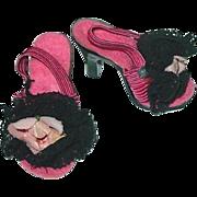 "Vintage Madame Alexander 20"" Cissy Heels"