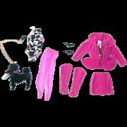 Carol Spencer Designed Barbie Classique Fashion W/Poodle