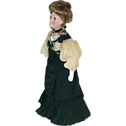 "tique 11"" German Kestner GIBSON GIRL #172 Lady Doll ~ All Original"