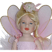 "Robert Tonner 7"" All Bisque POWDER PUFF Fairy Doll ~ MIB"