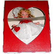 Nancy Ann Storybook FL Doll ~ #157 QUEEN OF HEARTS ~ Valentine Box