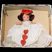 Nancy Ann Storybook Doll ~ Pudgy Tummy JL ~ #157 QUEEN OF HEARTS ~ Valentine