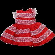 Nancy Ann Storybook ~ MUFFIE ~ 1955 Valentine Dress