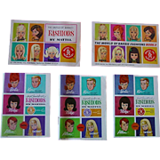 Lot of Five Barbie Booklets ~ 1963-67