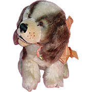 Vintage 1950s Steiff ~ Cockie Cocker Spaniel Dog Mohair Germany
