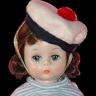 Vintage 1956 BKW Alexander-Kin Doll ~ Wendy in Basque Style #574