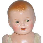 """Vintage Composition 23"""" TICKLETOES  Baby Doll by Ideal"""