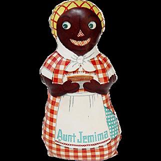 """Vintage 12"""" Oilcloth AUNT JEMIMA Doll"""