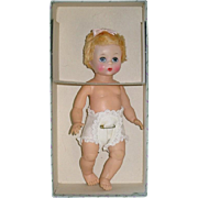 "Vintage Madame Alexander 8"" LITTLE GENIUS Doll ~ Mint in Box"