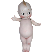 "Antique 1913 Rose O'Neill Bisque ~ 6 1/2"" Kewpie Doll"