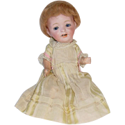 "Japanese 9"" Bisque Head MORIMURA Character Baby Doll"