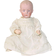 "Antique Gebruder HEUBACH ~ 10"" Character Baby Doll"