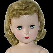 """Vintage Madame Alexander 18"""" HP Strung Margaret Face Doll"""