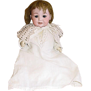 """German Bisque Head Doll ~ AM 327 Armand Marseille  9"""" Character Baby Doll"""