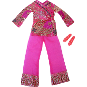 Mod 1970 Barbie Fashion ~ #1786 Bright 'N Brocade ~ NM/C