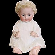 "Adorable 16"" Kestner 247 Hilda's Sister ~ Character Bisque Head German Baby Doll"