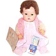 """Vintage 15"""" DY-DEE Baby Doll W/Box and  Accessories TLC"""