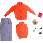 Vintage Barbie Fashion ~ #976 SWEATER GIRL ~ NMint/Complete