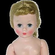"""Vintage 1950s Madame Alexander 10"""" CISSETTE ~ Nude ~ High Color"""