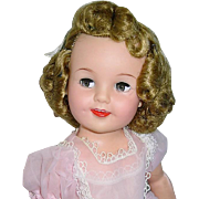 "Vintage 1950s Ideal 19"" Flirty Eye ~ SHIRLEY TEMPLE ~ All Original"