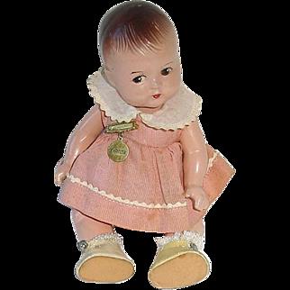 "Madame Alexander Dionne Quintuplet Composition 7"" Doll Yvonne"