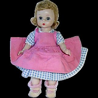 """Vintage 1955 SLW 8"""" Blonde Alexander-Kin ~ Wendy Plays in the Garden"""