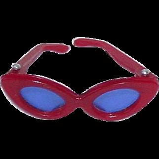 Vintage Barbie #985 OPEN ROAD ~ Original Red Sunglasses