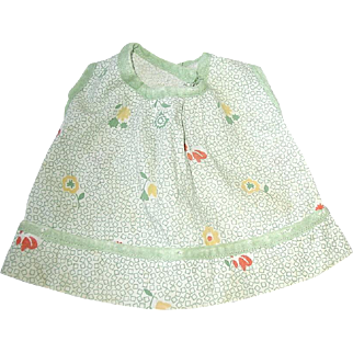 Vintage Mommy-Made Composition PATSY Doll Dress