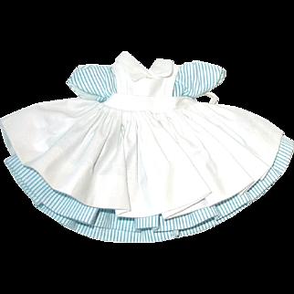 "Vintage Madame Alexander 8"" Wendy-kins BKW 1964 ~ Nurse Dress And Apron"