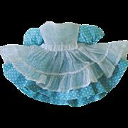 "Vintage 1950s Madame Alexander School Dress & Pinafore ~ 8"" Alexander-Kin"