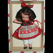 Nancy Ann Storybook ~ #120 To Market To Market ~ Bisque JL Pudgy Tummy W/Box