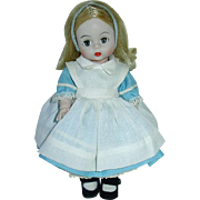 "Vintage HTF ~ Alexander Disney 8"" Alice in Wonderland 1972-77"