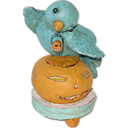 "Folk Artist DEBBEE THIBAULT ~ Sweet Bird of Youth ~ Halloween 5"""