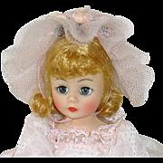 """Madame Alexander Portrette CISSETTE Doll 10"""" FLOWER GIRL #1122"""