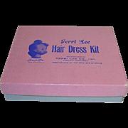 Vintage 1950s Terri Lee ~ Hair Dress Kit in Original Box ~ Rare!