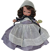 Nancy Ann Storybook #55 QUAKER MAID Joint Leg, Pudgy Mint W/Tag