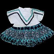 "Vintage 10"" Tiny Terri Lee ~ Squaw Dress"