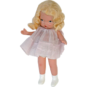 Vintage Nancy Ann Storybook Doll ~ MARGIE ANN W/ Pudgy Tummy, White Boots