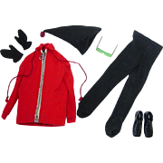 Vintage 1963-64 Ken Outfit ~  #798 Ski Champion