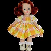 1953 Nancy Ann Strung MUFFIE ~ Redhead Sidepart ~ #711 Missie Kissable