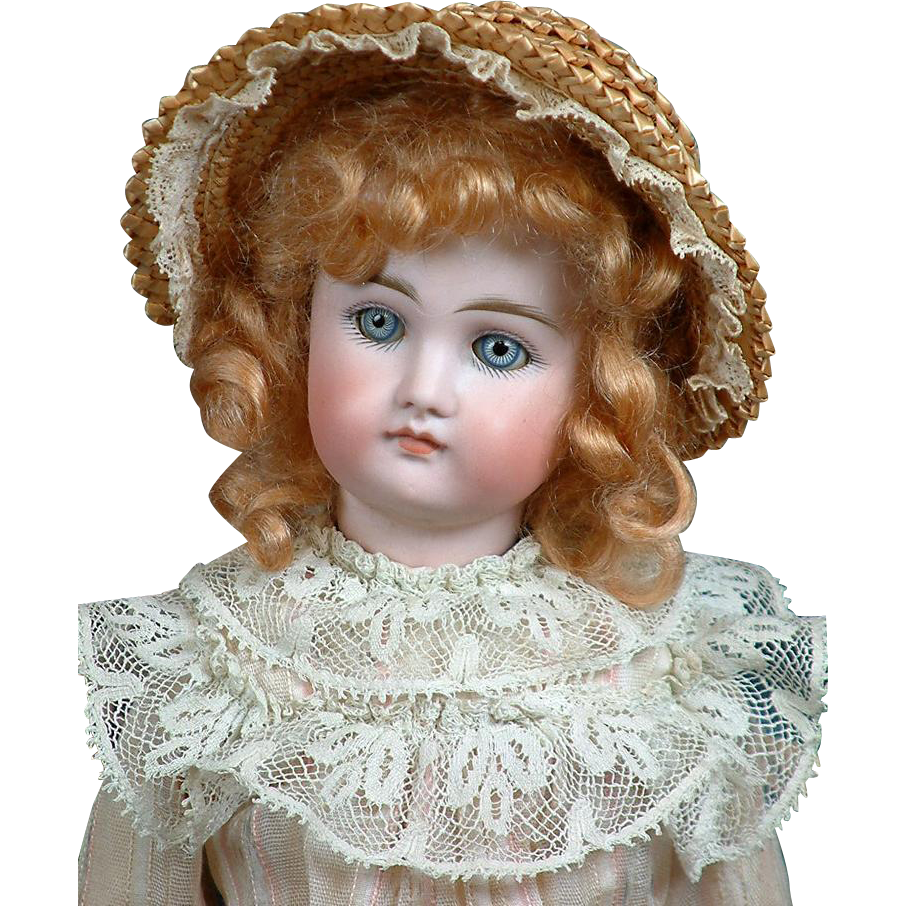 "Rare Early 17"" Closed Mouth Kestner Fashion Lady Doll"