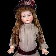 "Exquisite 26"" Kammer & Reinhardt/Simon & Halbig Antique Bisque Doll w/Fabulous Antique Costume & Presentation! WOW!"