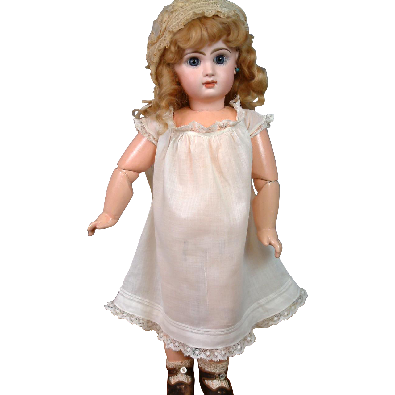 Superb Bebe Nightgown or Chemise C. 1890-95 In Excellent Condition