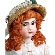 "Regal 30.5"" Tete Jumeau Bebe Size 14 French Antique Bebe Doll C. 1890"