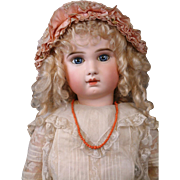 Incredible Victorian C. 1880 Coral Necklace With Solid Gold Clasp