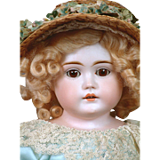 "The Most Beautiful 20"" Letter Kestner Lady With A Mint Pin Jointed Body & Perfect Hands"