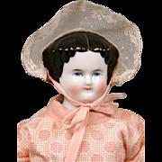 "100% Original Costume Antique China Lady 12.5"" w/Cute Presentation -- A Petite Angel"