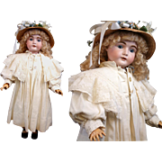 "Museum Quality C. 1895-1905 Top Coat 'Christmas Best' For 32-36"" Doll"