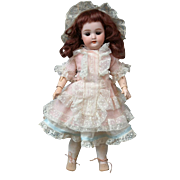 "Sweet Petite 12"" Simon & Halbig 1079 Antique Bisque Doll"